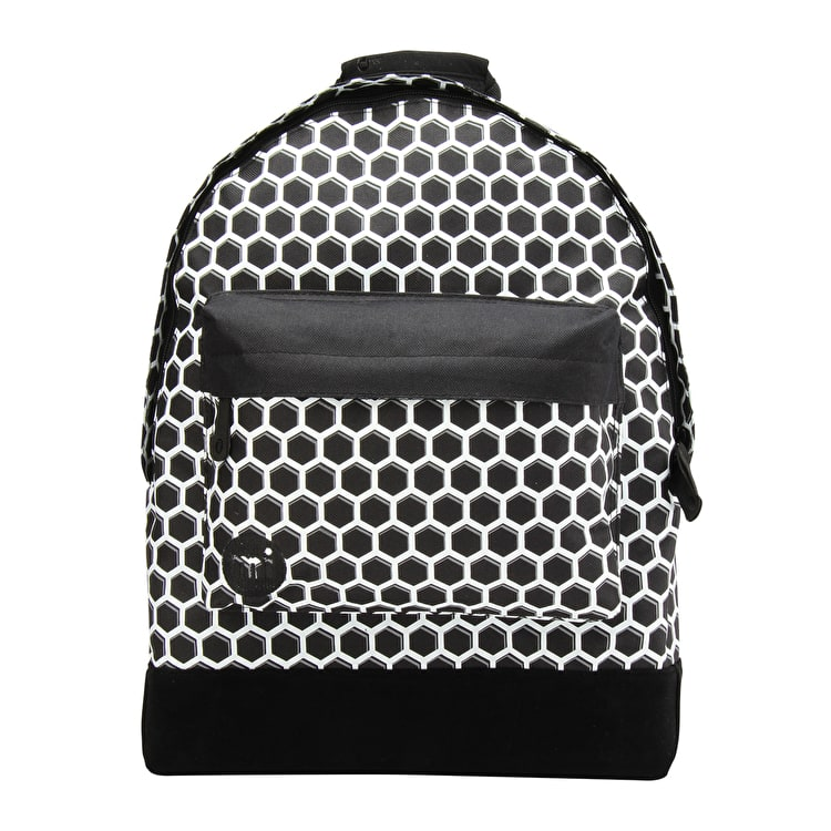 Mi-Pac Honeycomb Backpack - Black/White