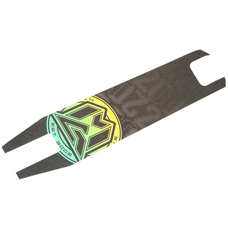 MGP VX6 Pro Scooter Grip Tape - Yellow/Teal