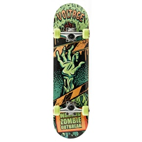 Voltage Zombie Mini Complete Skateboard - Green
