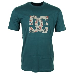 DC Logo Star T-Shirt - Green/Camo