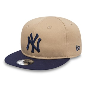 New Era 9Fifty Infant Essential Cap - New York Yankees Camel/Navy