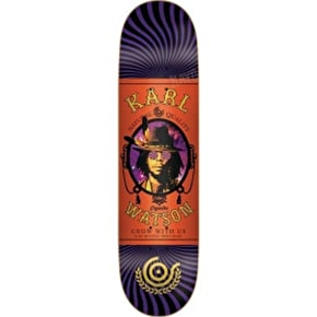 Organika Papers Skateboard Deck - Watson - 8.1''