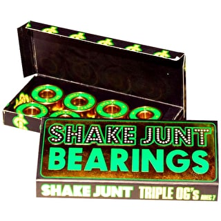Shake Junt Triple OG's Bearings - ABEC 7 (Pack of 8)