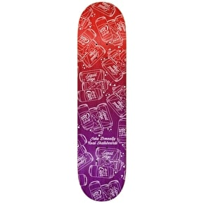 Real Skateboard Deck - Loose Juice Donnelly Purple 8.25