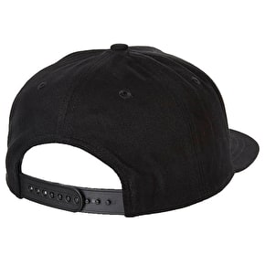 Volcom Single Stone Basic Snapback Black