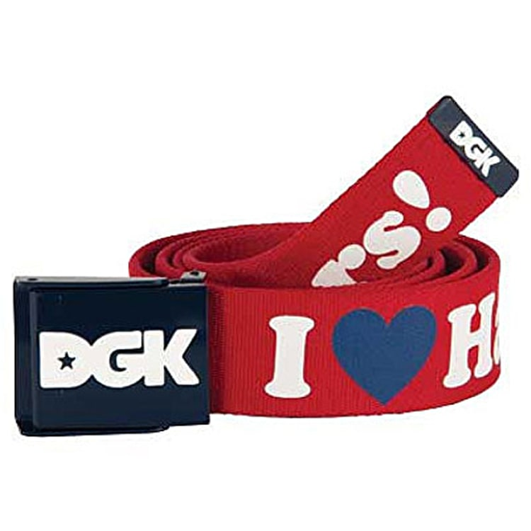 DGK Haters 2 Scout Belt - Red