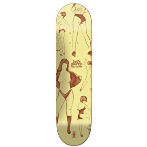 Girl Party Girls Skateboard Deck - Carroll 8.125