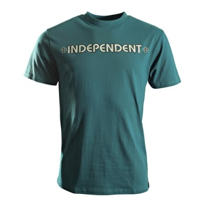 Independent T-Shirt - Bar Cross Steel