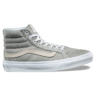 Vans SK8-Hi Slim Skate Shoes - (J&S) Frost Grey/White