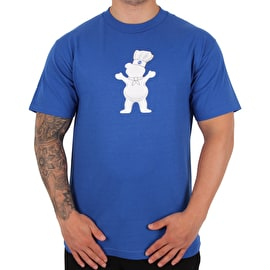 Grizzly Doughbear T shirt - Royal Blue