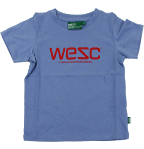 WeSC Unisex Kids T-Shirt - Blue Eyed Mary