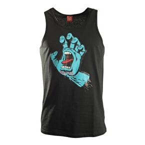 Santa Cruz Vest - Screaming Hand Black
