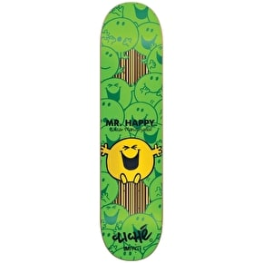 Cliche Skateboard Deck - Mr. Men Impact Mendizabal 7.75''