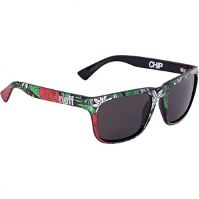 Neff Chip Sunglasses - Hibiscus