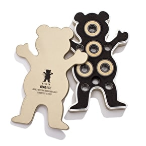Grizzly Bear-Ings ABEC 7 Gold/White Skateboard Bearings