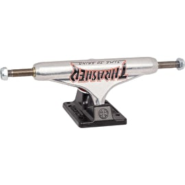 Independent X Thrasher TTG Standard Skateboard Trucks - Silver/Black 149mm