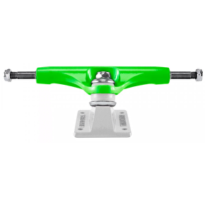 Thunder Hi 147 Crushers Skateboard Trucks - Green/White (Pair)