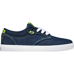 Globe Motley Kids Shoes - Navy/Lime