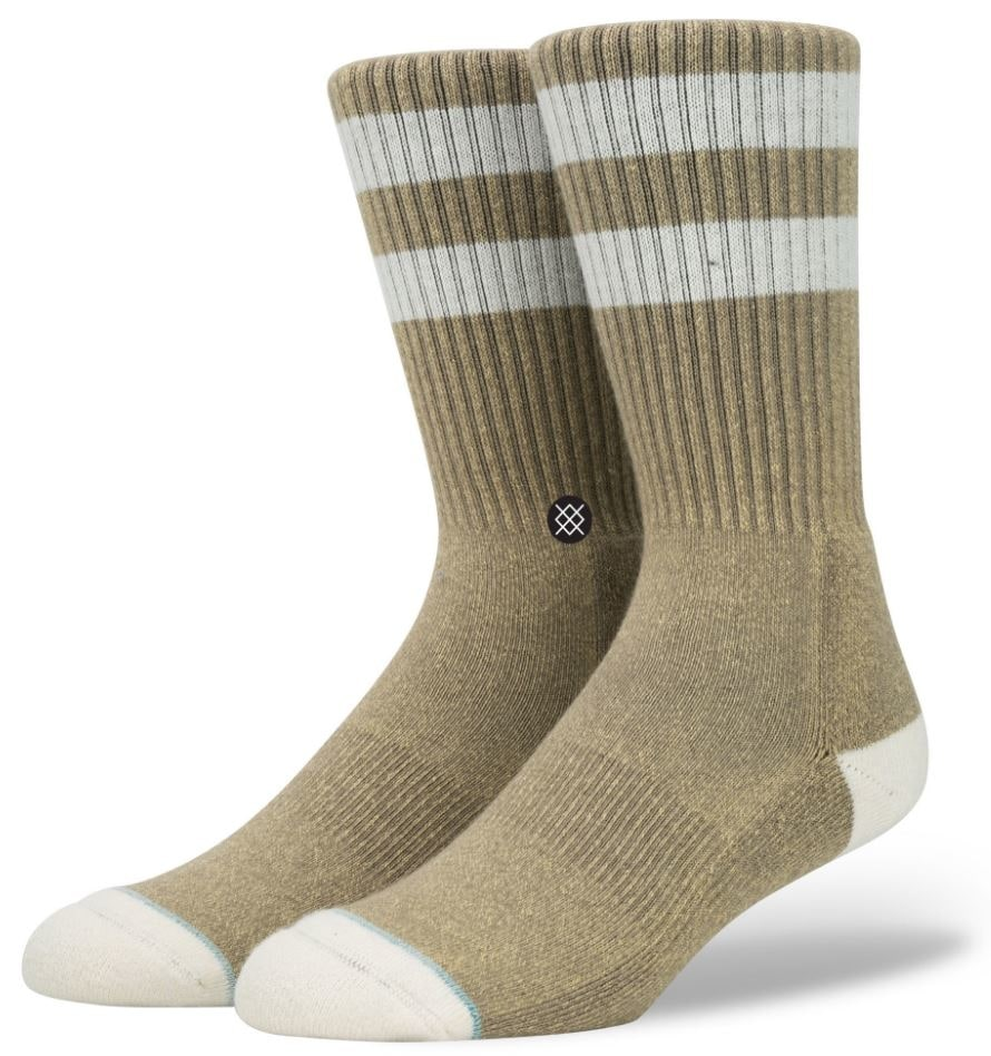 Stance Salty Socks  Brown