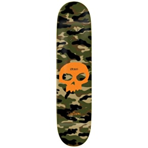 Zero Skateboard Deck - Camo Skull Impact Light Burman 8.5