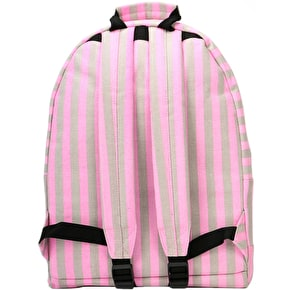 Mi-Pac Seaside Check Backpack - Pink/Sand