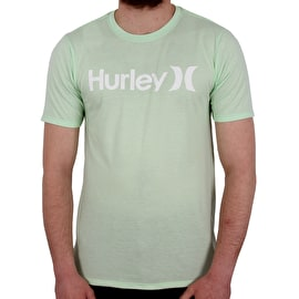 Hurley One & Only Solid T shirt - Vapour Green