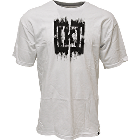 Kr3w Bracket Smear T-Shirt - White