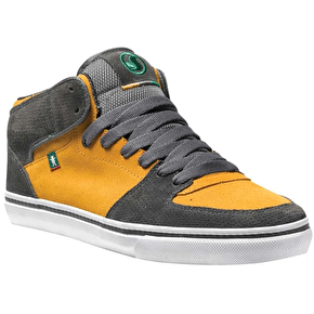 DVS x Grizzly Torey Kids Skate Shoes - Charcoal Suede