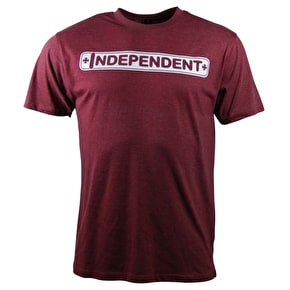 Independent Axle Bar T-Shirt - Wine Heather