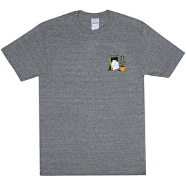 RIPNDIP Family Reunion T Shirt - Ash Grey