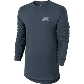 Nike SB Skyline Dri-Fit Cool Crew - Blue/Reflective Silver