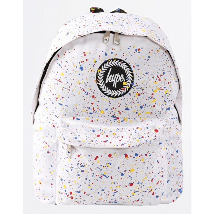 Hype Primary Backpack - White/Multi