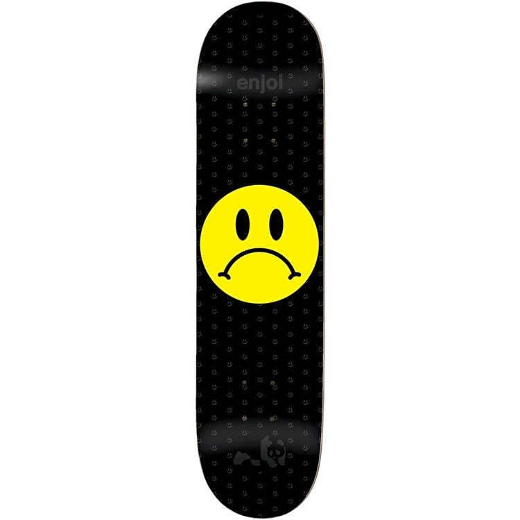 Enjoi Frowny Face Skateboard Deck 8.375""