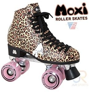 Moxi Ivy Jungle Leopard Quad Skates