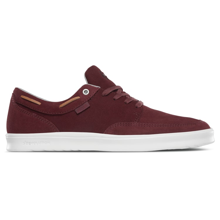 Etnies Dory SC Skate Shoes - Burgundy/Tan/White