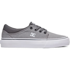 DC Trase TX SE Boys Skate Shoes - Grey