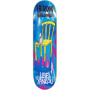Heroin Skateboard Deck - Lee Yankou Chair 8.44