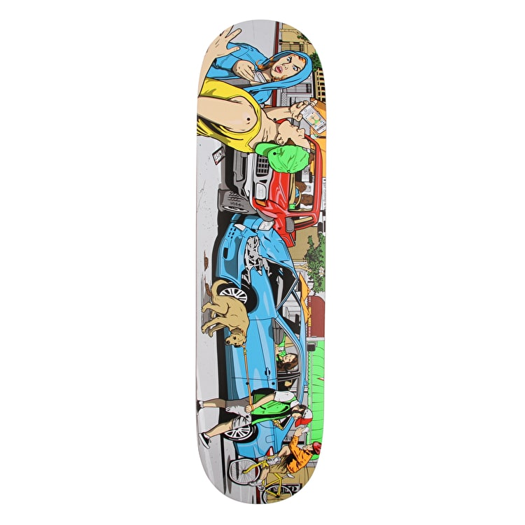 Almost Augmented Reality Skateboard Deck 8.125""