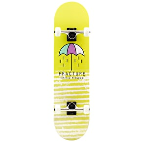 Fracture Brolly Complete Skateboard - Yellow 8