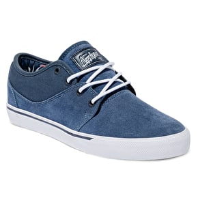 Globe Mahalo Shoes - Blue/Dark Blue