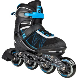 Skatelife Lava Adjustable Inline Skates - Blue/Black
