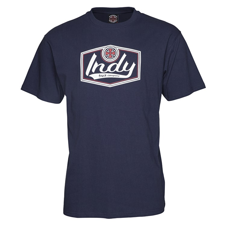 Independent Patch T-Shirt - Navy