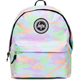 Hype Pastel Camo Backpack - Multi