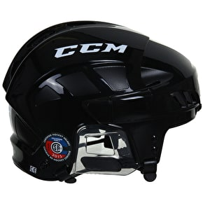 B-Stock CCM FitLite FL60 Ice Hockey Helmet - Black - Small (Box Damage)