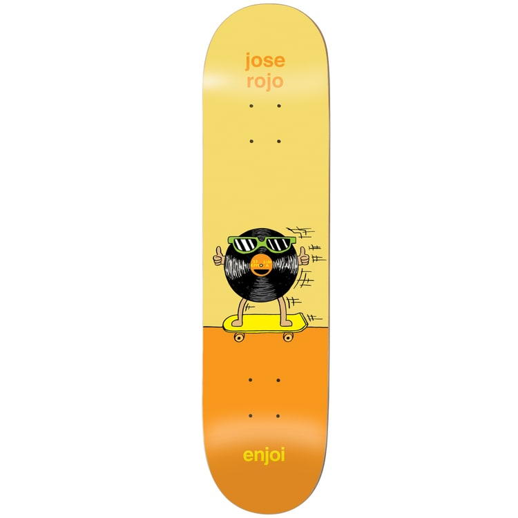 Enjoi Dingleballdom R7 Skateboard Deck - Rojo 8.25""