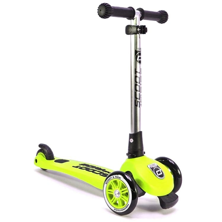 Scoot And Ride Highwaykick 3 Complete Scooter - Lime