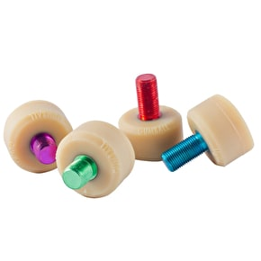 Gumball V2 Flat Short Stem Toe Stops-17mm