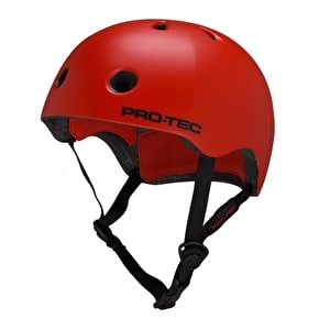 B-Stock Pro-Tec Street Lite Helmet - Satin Blood Orange LRG (Box Damage)