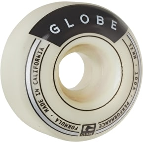 Globe Banger 52mm 101a Skateboard Wheels - White