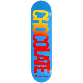 Chocolate Cut Out Skateboard Deck - Brenes 8
